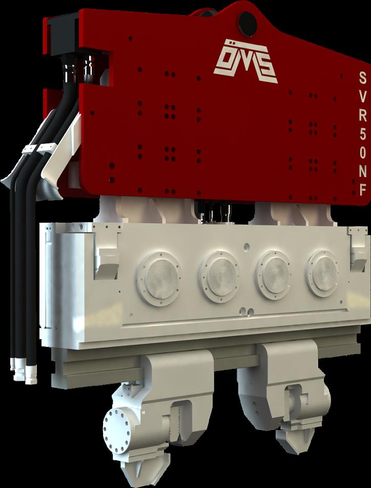 Купить подвесные крановые вибропогружатели с нормальной частотой OMS (Серия SVR NF) в КоперГруппСервис