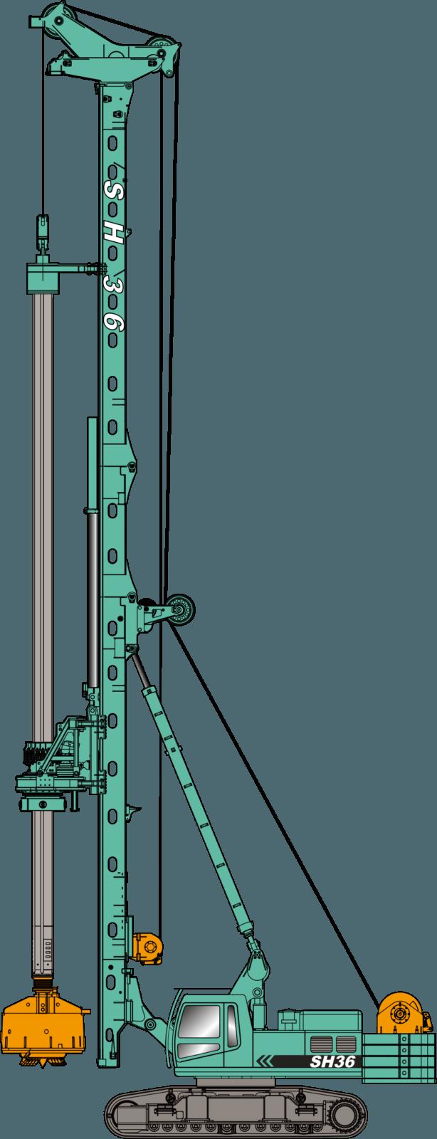 Гидравлические буровые установки JINT (Серия SH)