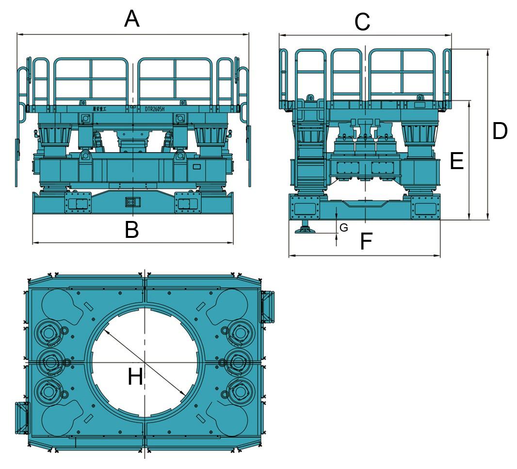 Обсадные столы DunAn (серия DTR)
